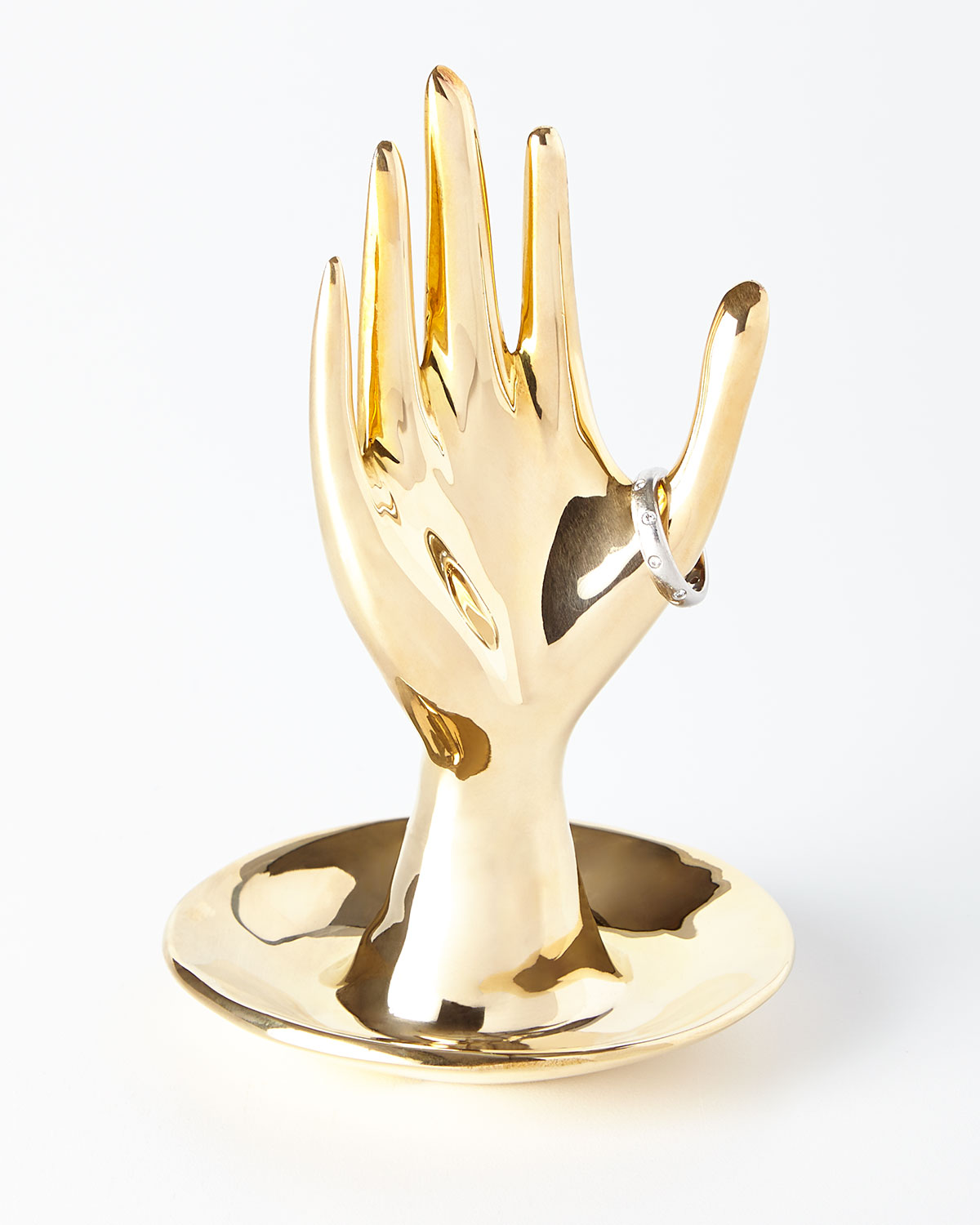 Brass Hand Ring Holder - Jonathan Adler