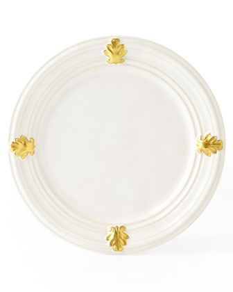 Acanthus Gold Leaf Dinnerware