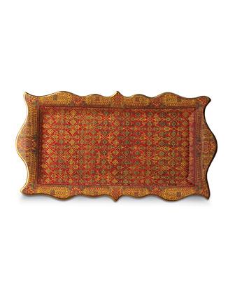 Tabriz Rectangular Platter