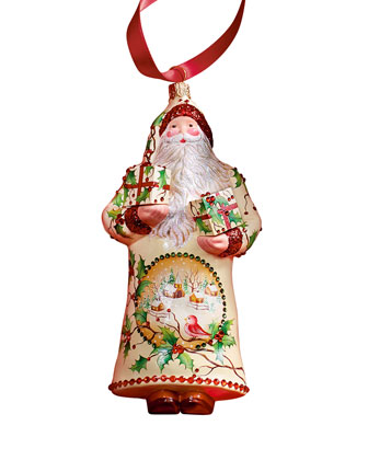 Peppleman Claus Christmas Ornament