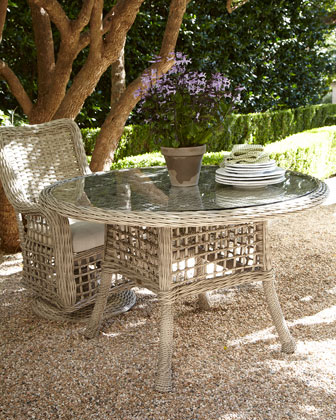 Moraya Bay Round Outdoor Dining Table