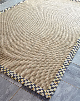 Courtly Check Sisal Rug