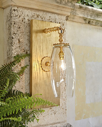 Luna Belle Outdoor Sconce