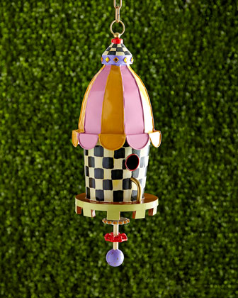 Courtly Check Birdhouse