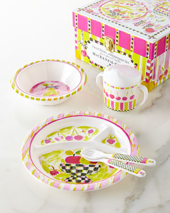 Fruit Bowl Toddler's Dinnerware Set