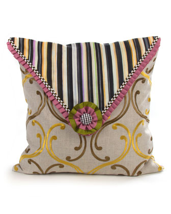 Summerhouse Square Pillow