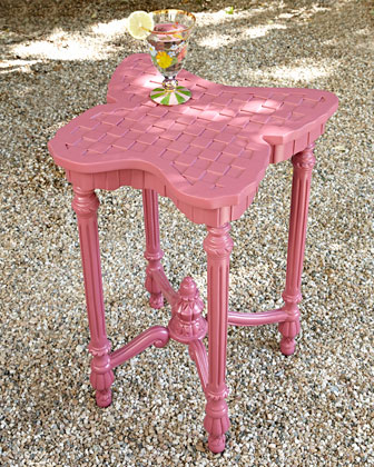 Flower Market Outdoor Chair, Table, & Pillow