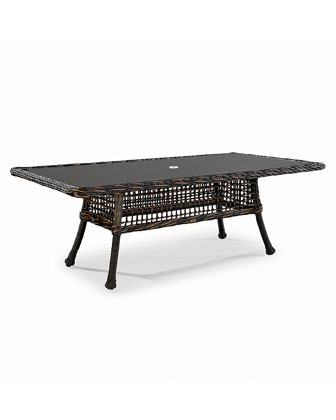 Moraya Bay Rectangular Outdoor Dining Table