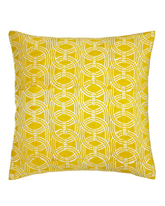 American Summer Yellow Pillows