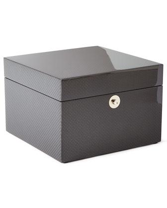 Roger Small Carbon Fiber Jewelry Box