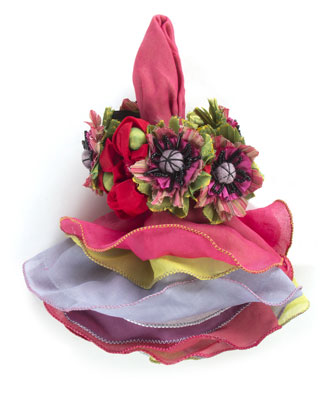 Cutting Garden Napkin Bouquet