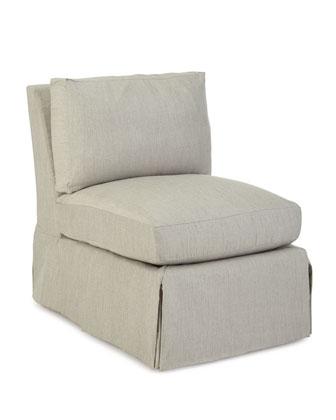 Harrison Vesper Outdoor Sectional, Armless Chair, & Pillow Set
