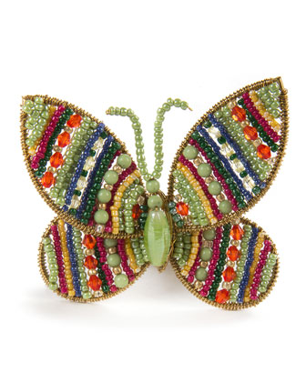 Butterfly Jewel Napkin Ring