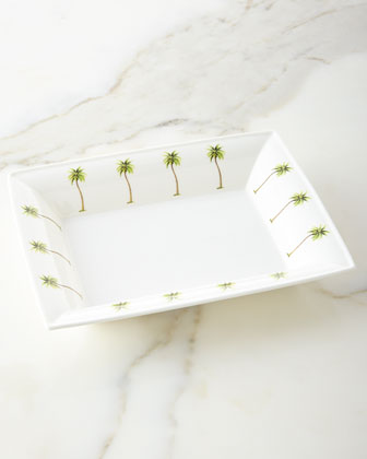 Palm Trinket Trays