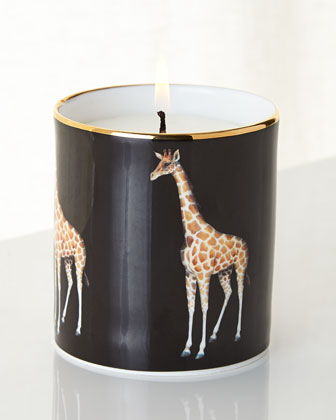 Giraffe Filled Candle