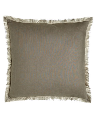 Fringed Linen Pillows