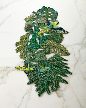 Rain Forest Table Runner