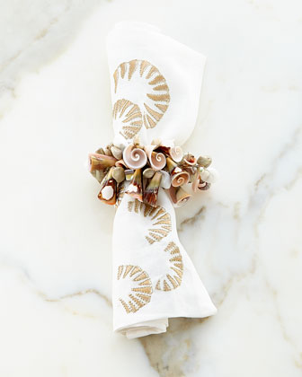Shoreline & Shell Table Linens