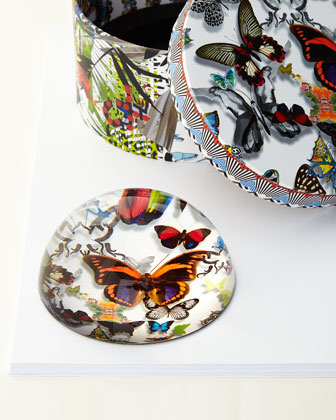 Butterfly Parade Paperweight