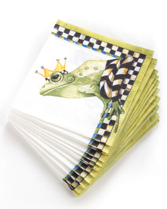 Frog Paper Cocktail Napkins