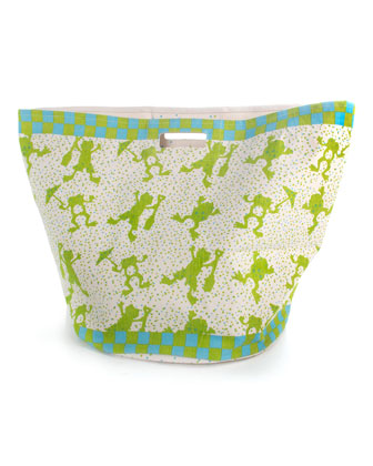 Frog Small Storage Tote