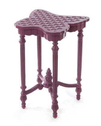Sunset Plum Outdoor Butterfly Table