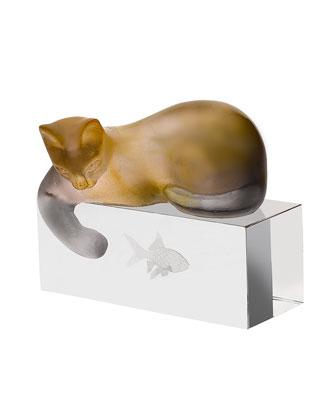 Amber/Gray Cat