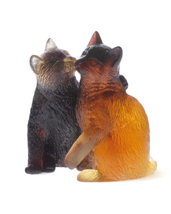 Kittens Sculpture