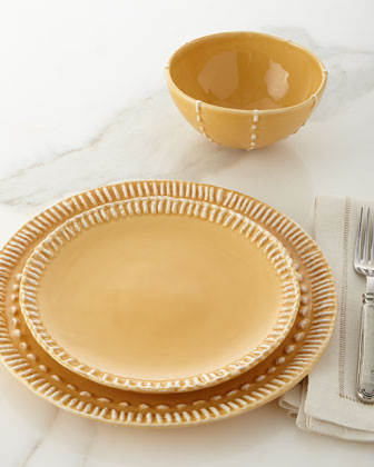 12-Piece Stitched Dinnerware Service