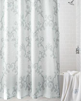 Cotton Shower Curtain Neiman Marcus Cotton Shower Drape