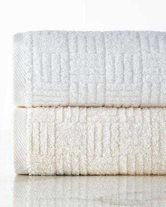 Hotel Collection Basketweave Towels