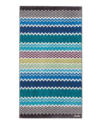 Rufus Zigzag Beach Towel