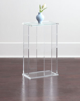 Chase Acrylic End Table