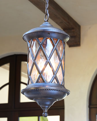 Barrington Gate Three-Light Outdoor Pendant