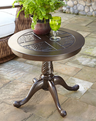 Royal Plantation Outdoor End Table