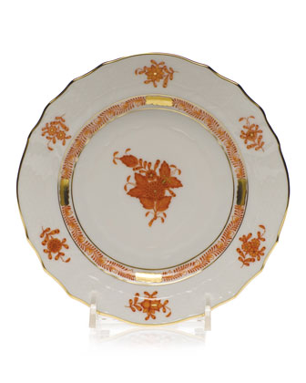 Rust Chinese Bouquet Dinnerware