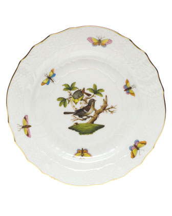 Rothschild Bird Bread & Butter Plate