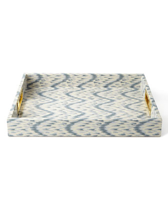 Printed Ikat Trays