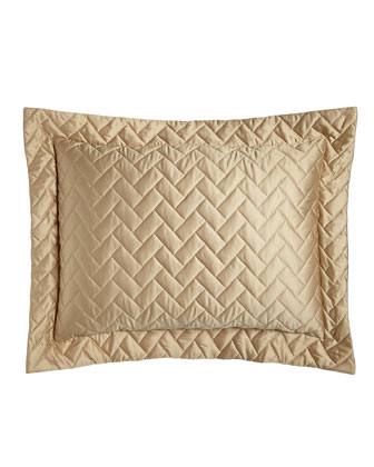 King Quilted Piazza Sham