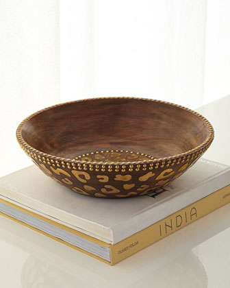 Cheetah-Print Bowl