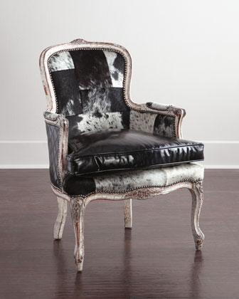 Darra Hairhide Chair