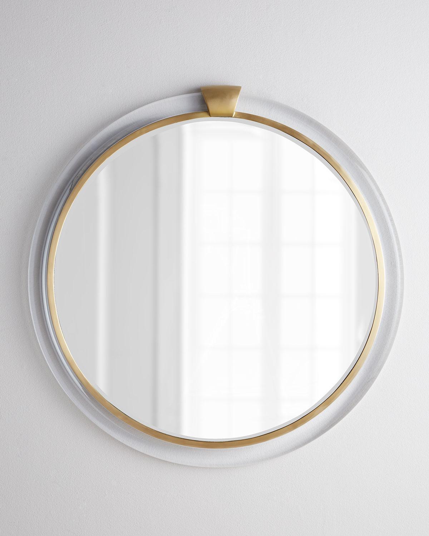 Acrylic-Frame Mirror, Clear - Neiman Marcus
