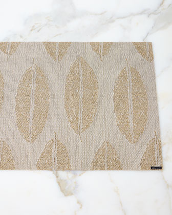 Leaves-in-Honey Placemat