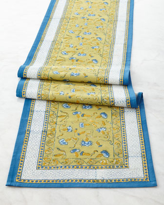 Bleuet Table Runner, 16