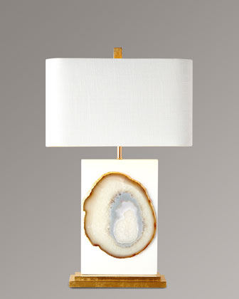 Bel Air Agate Table Lamp