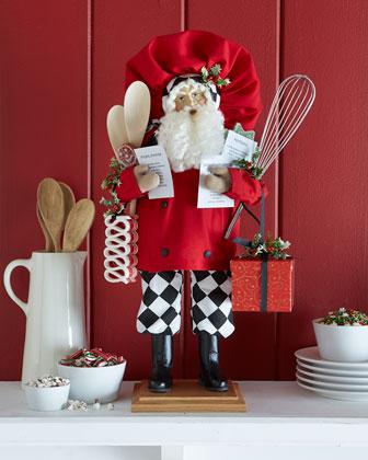 Santa's Recipes Figure