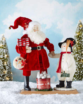 Snowtime Buddies Christmas Figure