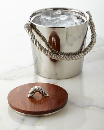 Rope Ice Bucket & Scoop
