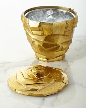 Rock Ice Bucket & Scoop