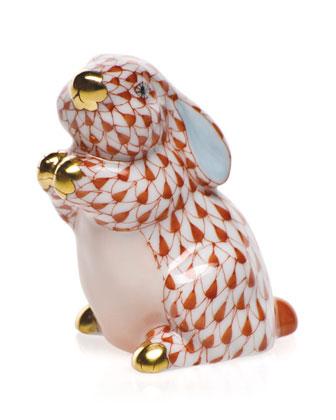 Pudgy Bunny Figurine